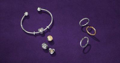 PANDORA bracelet and rings