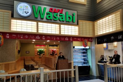 Cafe Wasabi Store Front