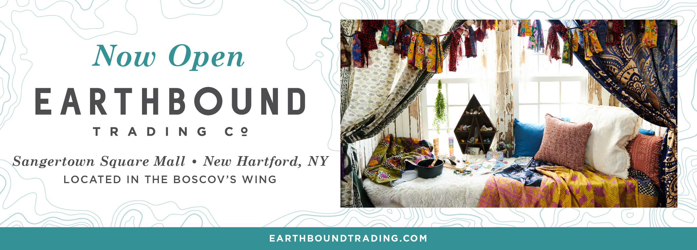 Earthbound Trading Co. Now Open