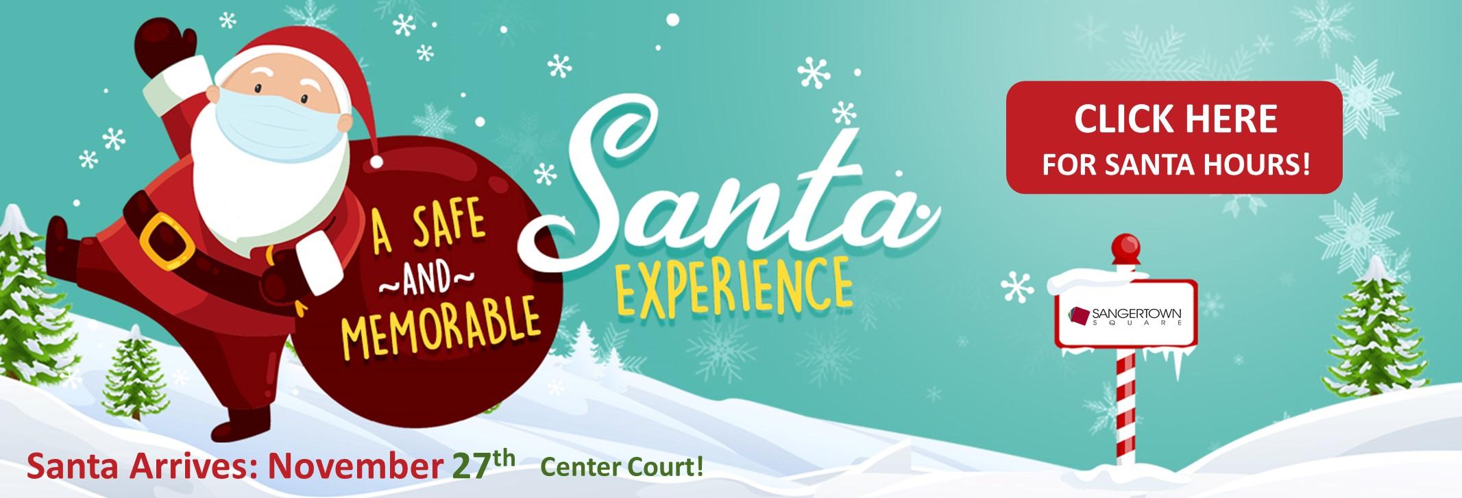 Santa Arrives on November 27th!