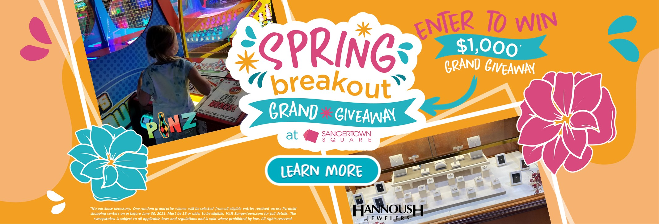 Spring Breakout Grand Giveaway