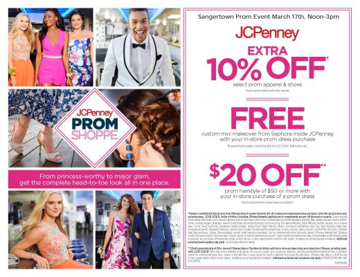 Jcpenney Prom Event Sangertown Square