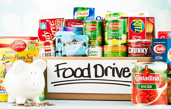 Christmas In July Food Drive Sangertown Square