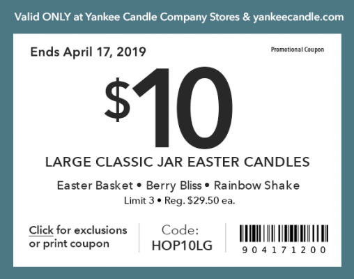 Easter Candles - Sangertown Square