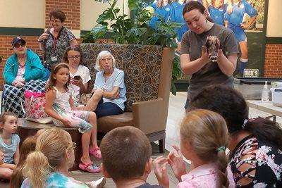 Utica Zoo Meet & Greet