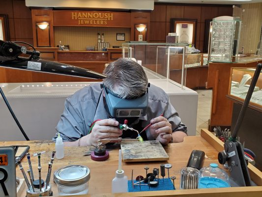 Jewelry Repairs at Hannoush Jewelers