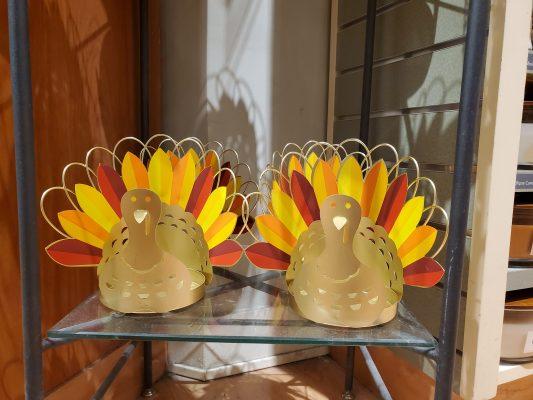 Turkey Candle Holders