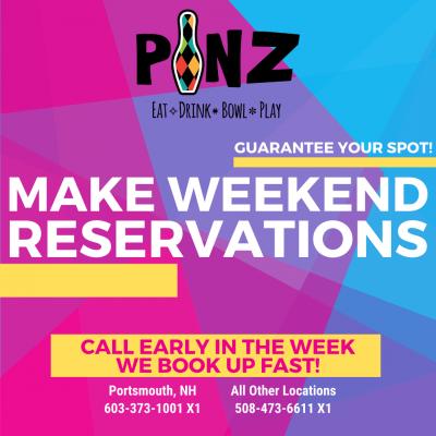 Weekend Reservations