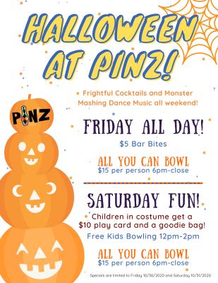 Halloween at PiNZ