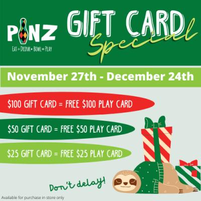 Black Friday Sale at PiNZ