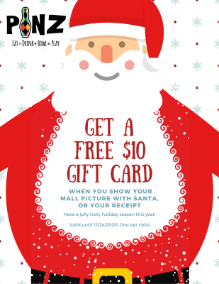 Get a Free $10 Gift Card
