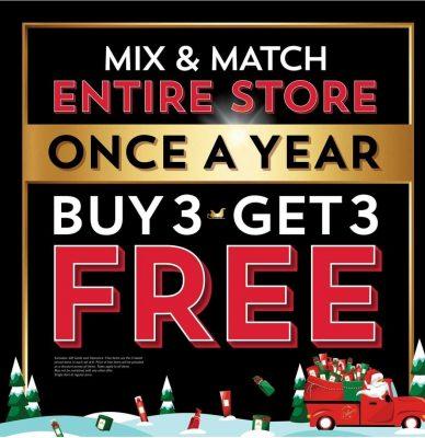 Mix & Match Entire Store