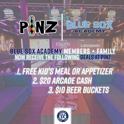 Blue Sox Academy Deal at PiNZ