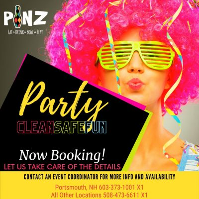 Booking Parties at PiNZ