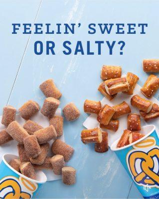 Feelin' Sweet or Salty