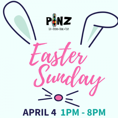 Easter Sunday 1pm - 8pm