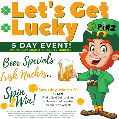 Let's Get Luck Event