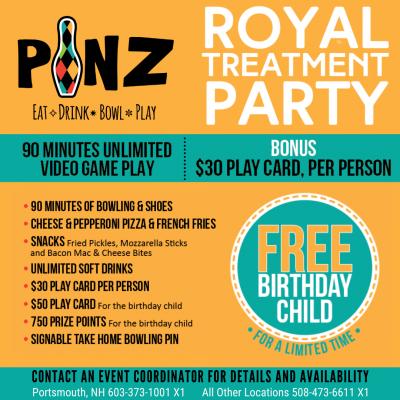 Royal Treatment Party