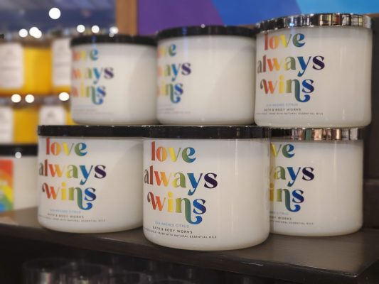 Love Always Wins Candles