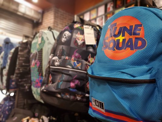 Tune Squad Backpack from Spencer's