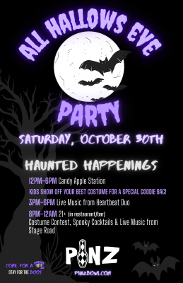All Hallows Eve Party